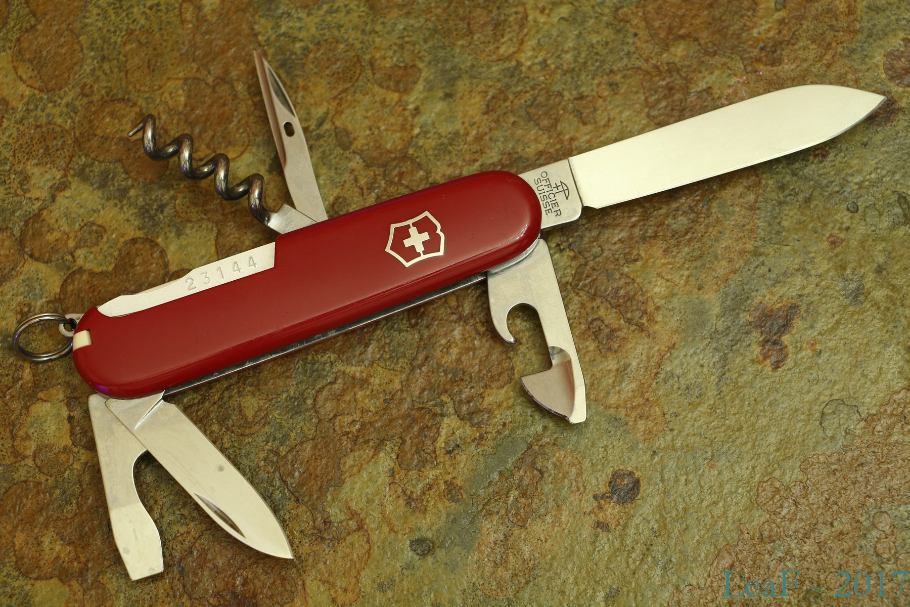 192 Spartan 100 Years Leaf S Victorinox Knives Collection