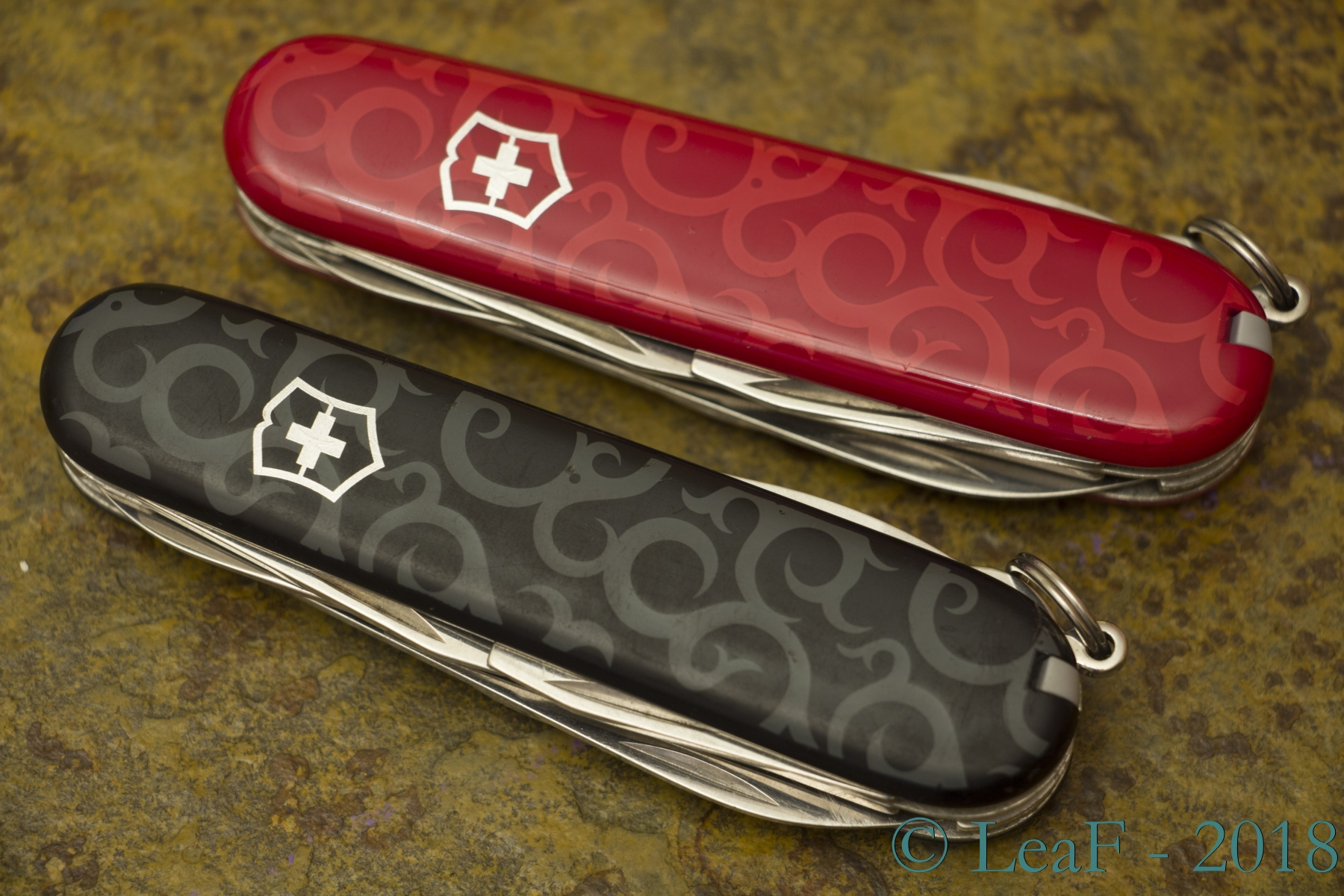 211 Climber Rei Tribal Leaf S Victorinox Knives