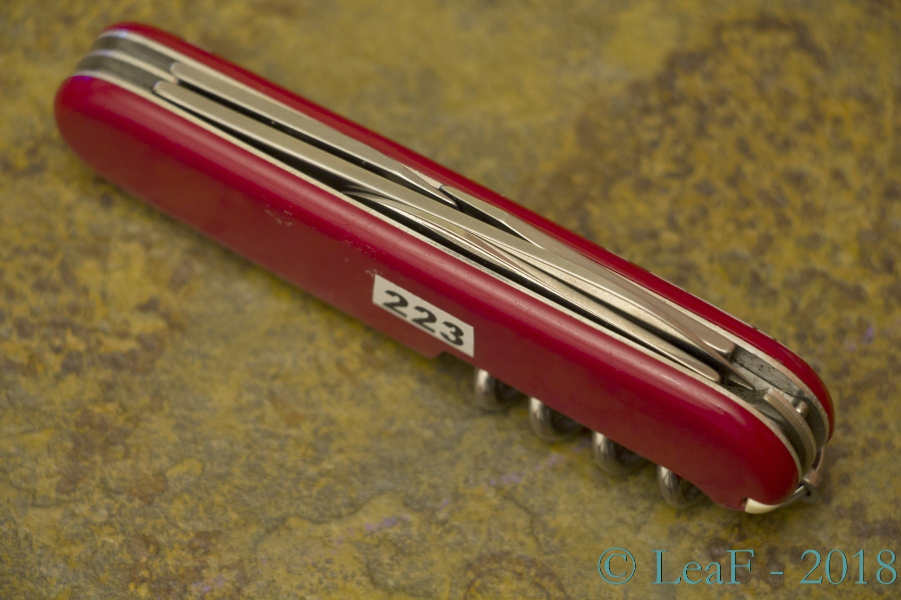 223 Spartan Edelweiss Leaf S Victorinox Knives Collection