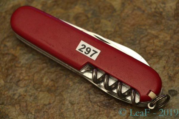 297 Passenger Leaf S Victorinox Knives Collection