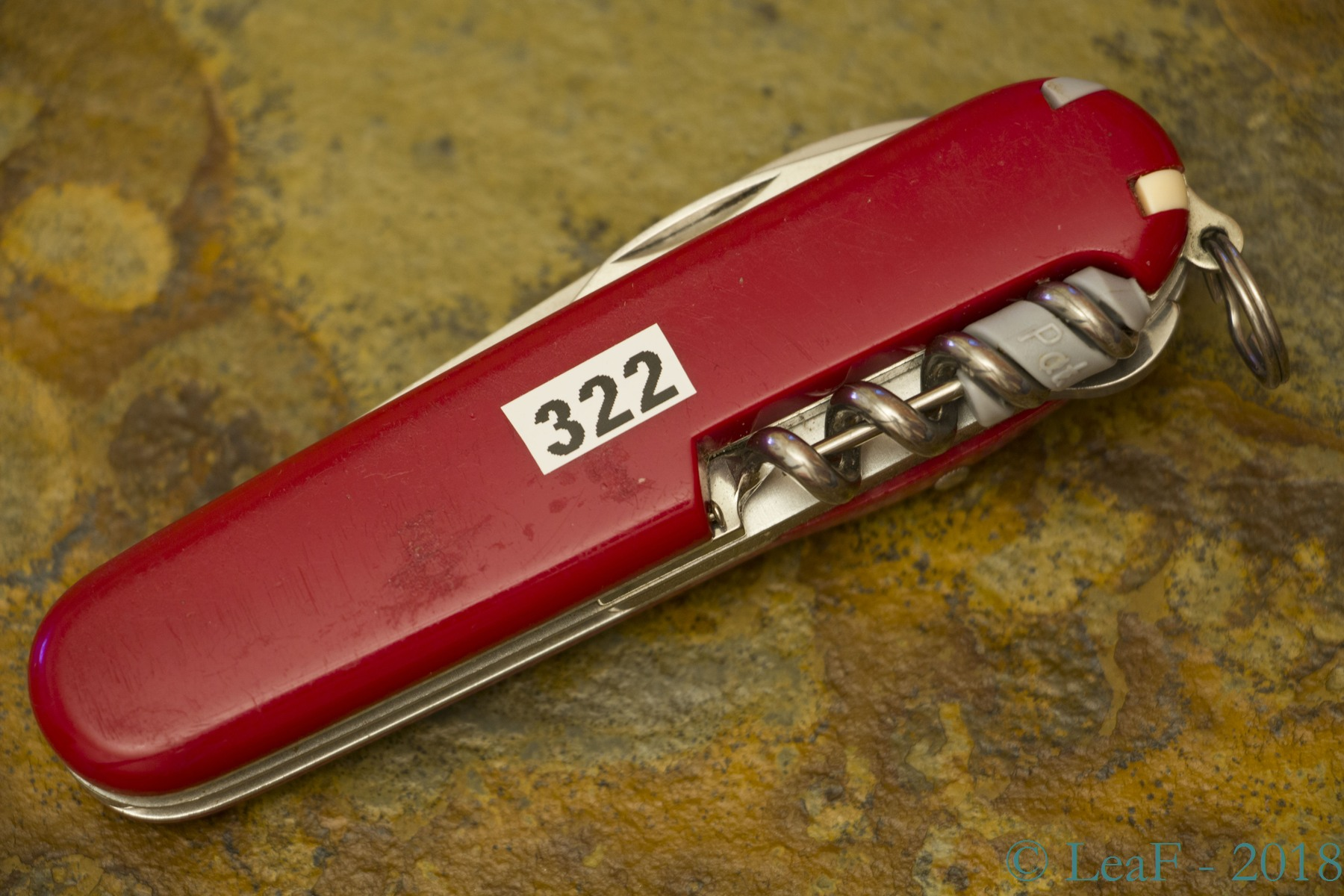 322 Timekeeper Leaf S Victorinox Knives Collection